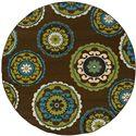 "Oriental Weavers Caspian 7'10"" Rug - Item Number: C859D6240RDST"