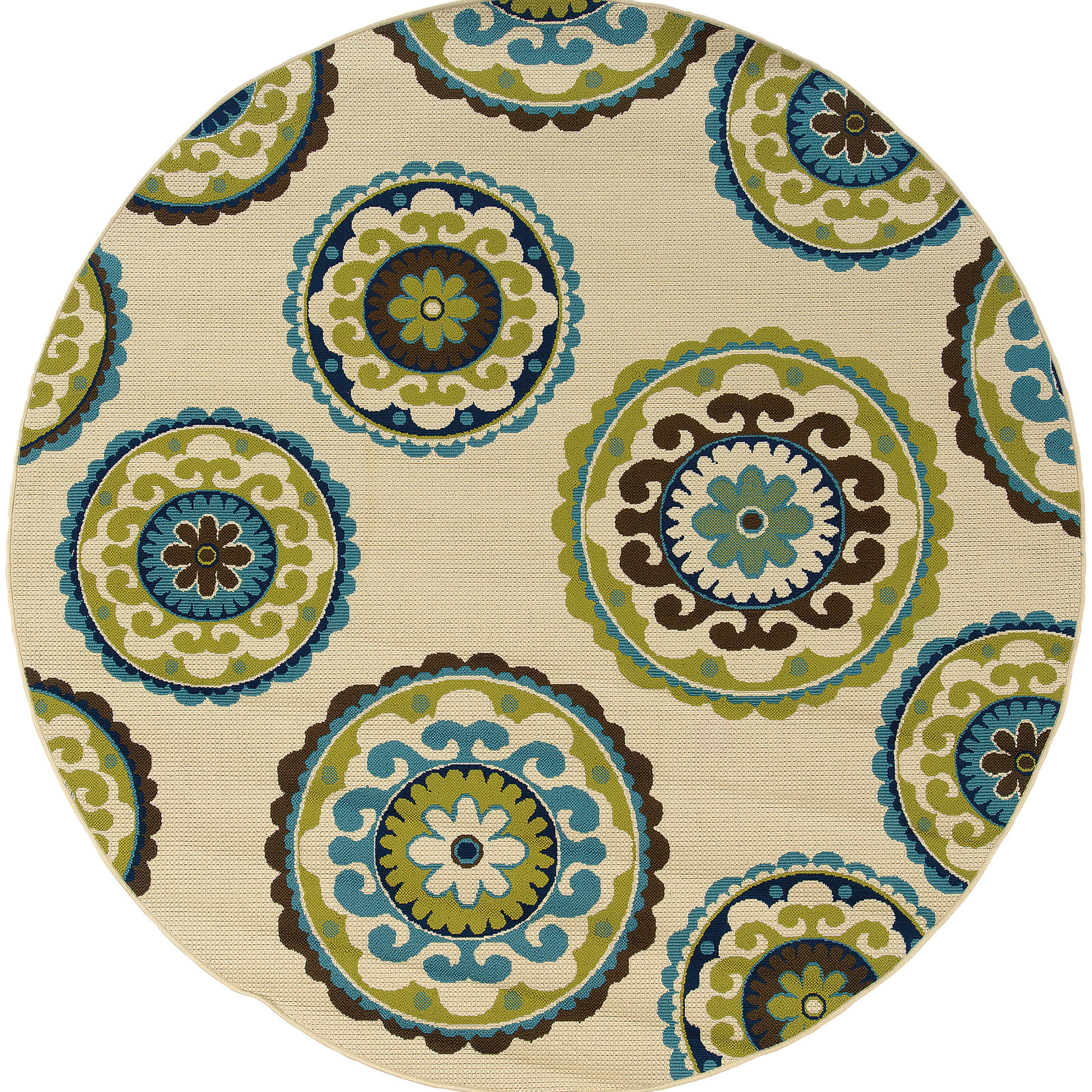 """Oriental Weavers Caspian 7'10"""" Rug - Item Number: C859J6240RDST"""