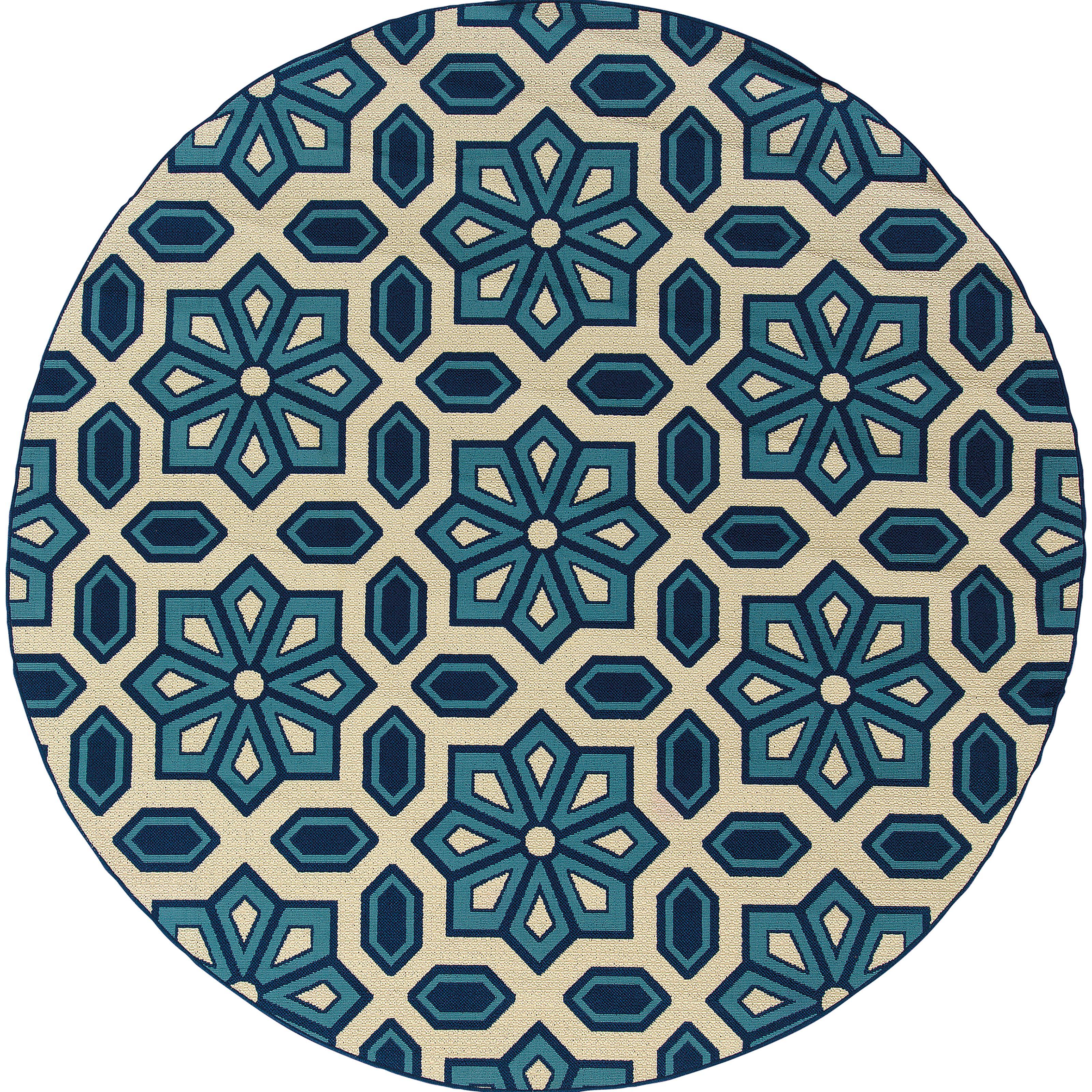 """Oriental Weavers Caspian 7'10"""" Rug - Item Number: C969W6240RDST"""