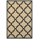 """Oriental Weavers Cayman 2' 3"""" X  7' 6"""" Outdoor Sand/ Charcoal Runner - Item Number: CAY660N23X76"""