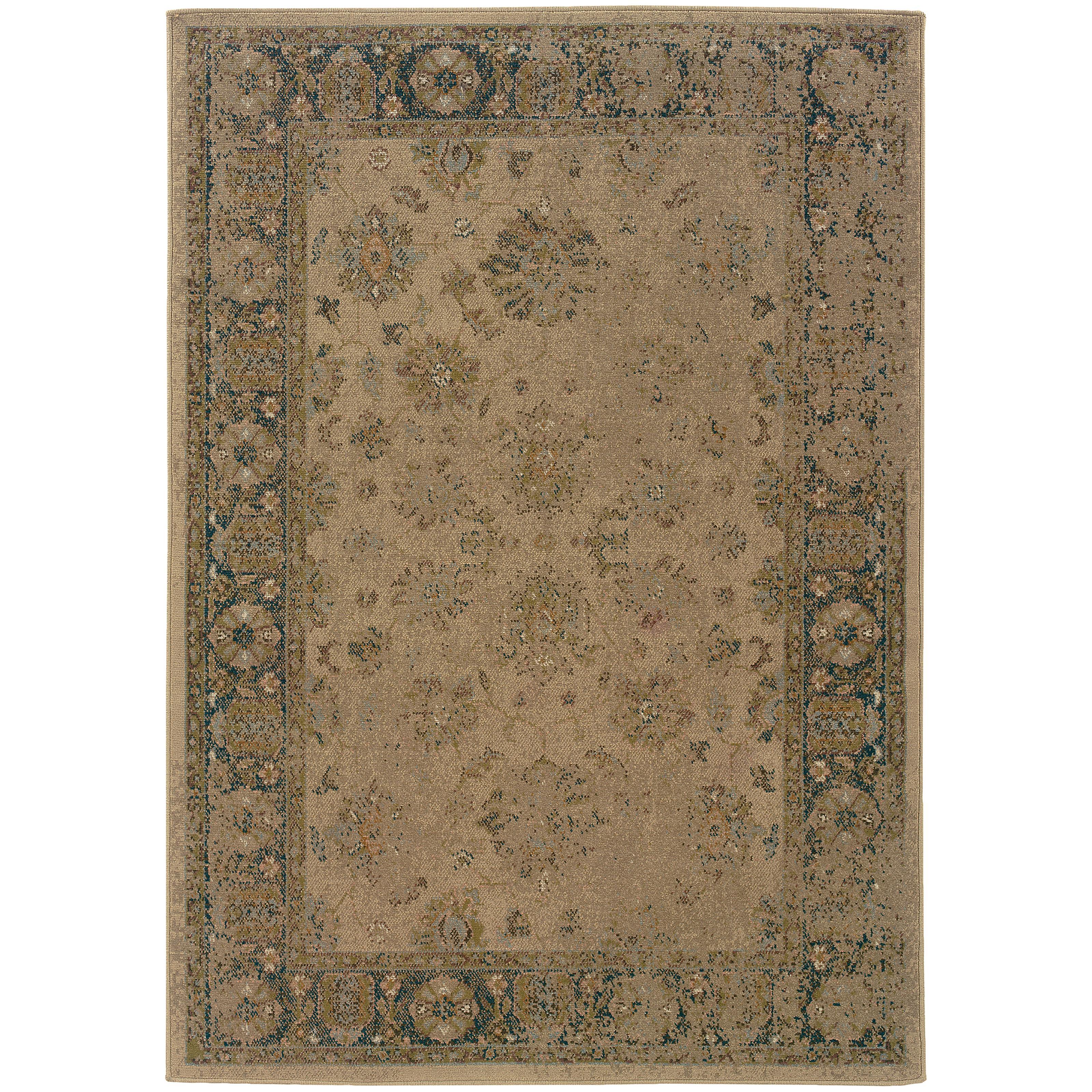 """Oriental Weavers Chloe 5' 3"""" X  7' 6"""" Rug - Item Number: C1382G160230ST"""