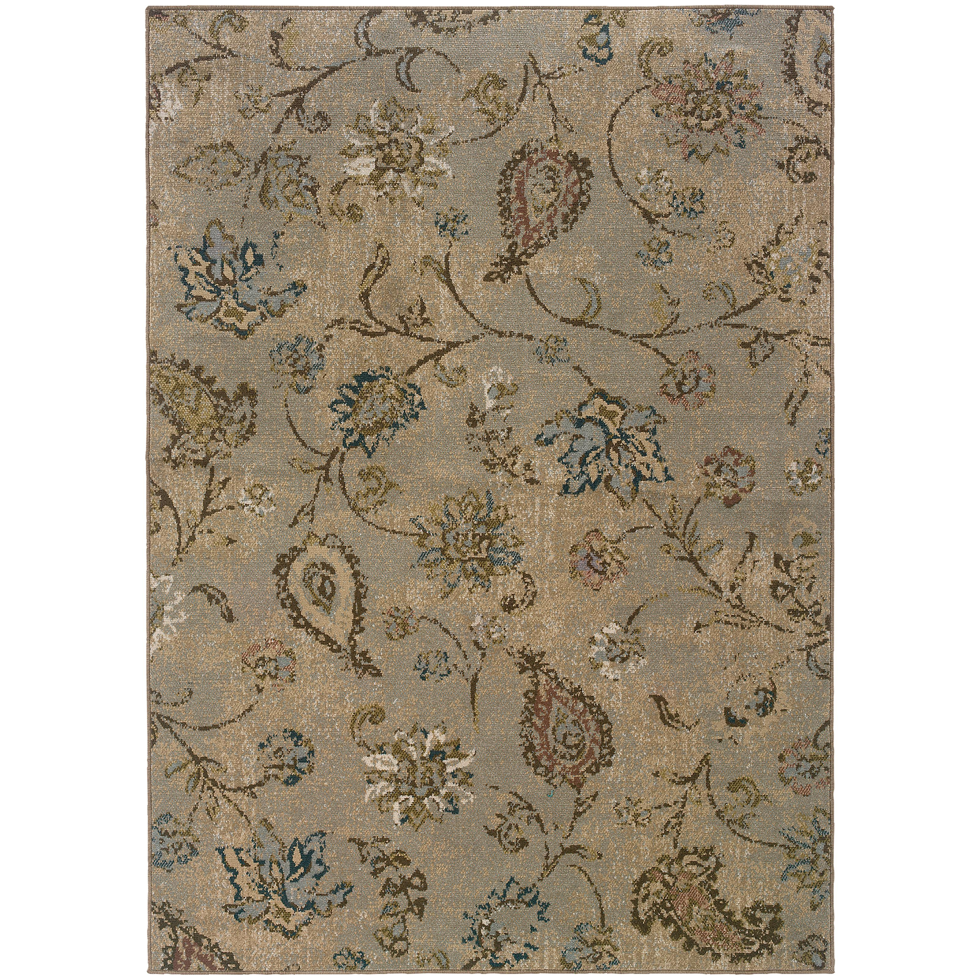 """Oriental Weavers Chloe 3'10"""" X  5' 5"""" Rug - Item Number: C3818D117165ST"""