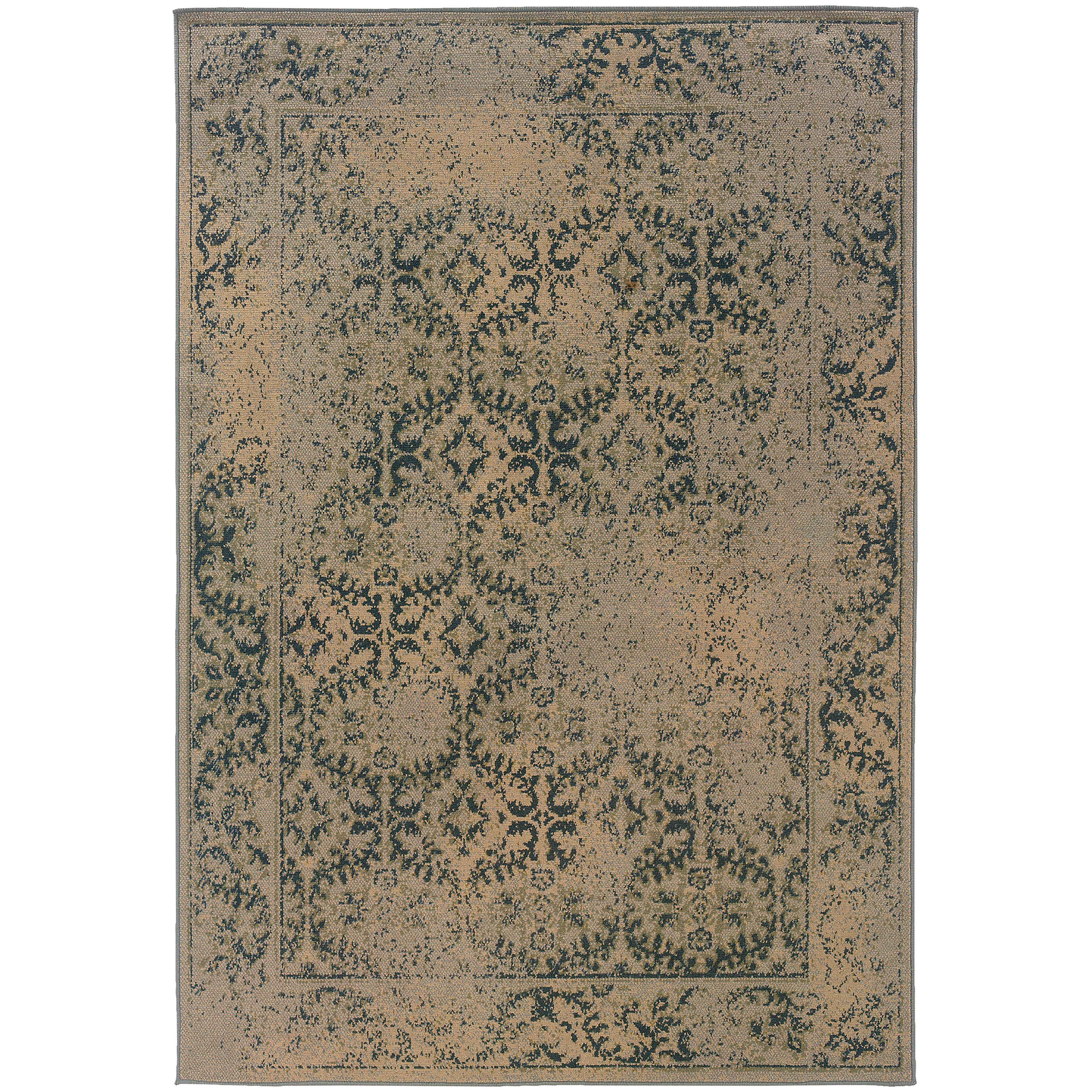 """Oriental Weavers Chloe 3'10"""" X  5' 5"""" Rug - Item Number: C3867C117165ST"""