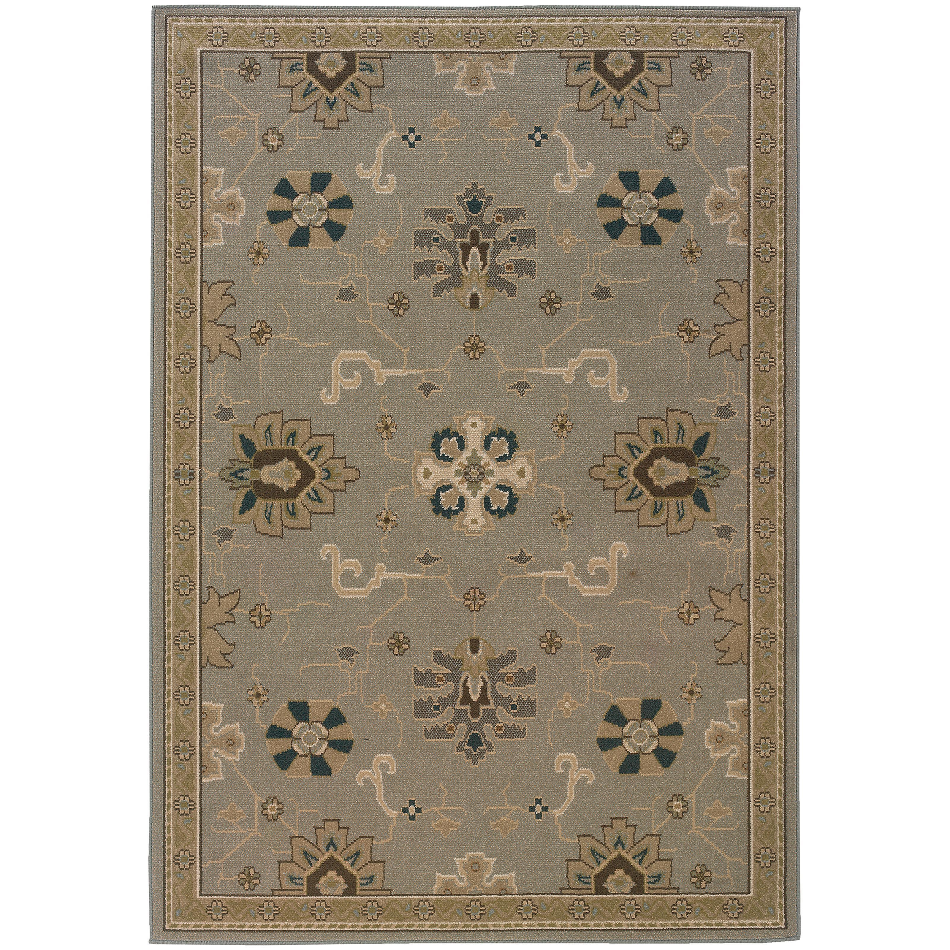 """Oriental Weavers Chloe 3'10"""" X  5' 5"""" Rug - Item Number: C3965A117165ST"""