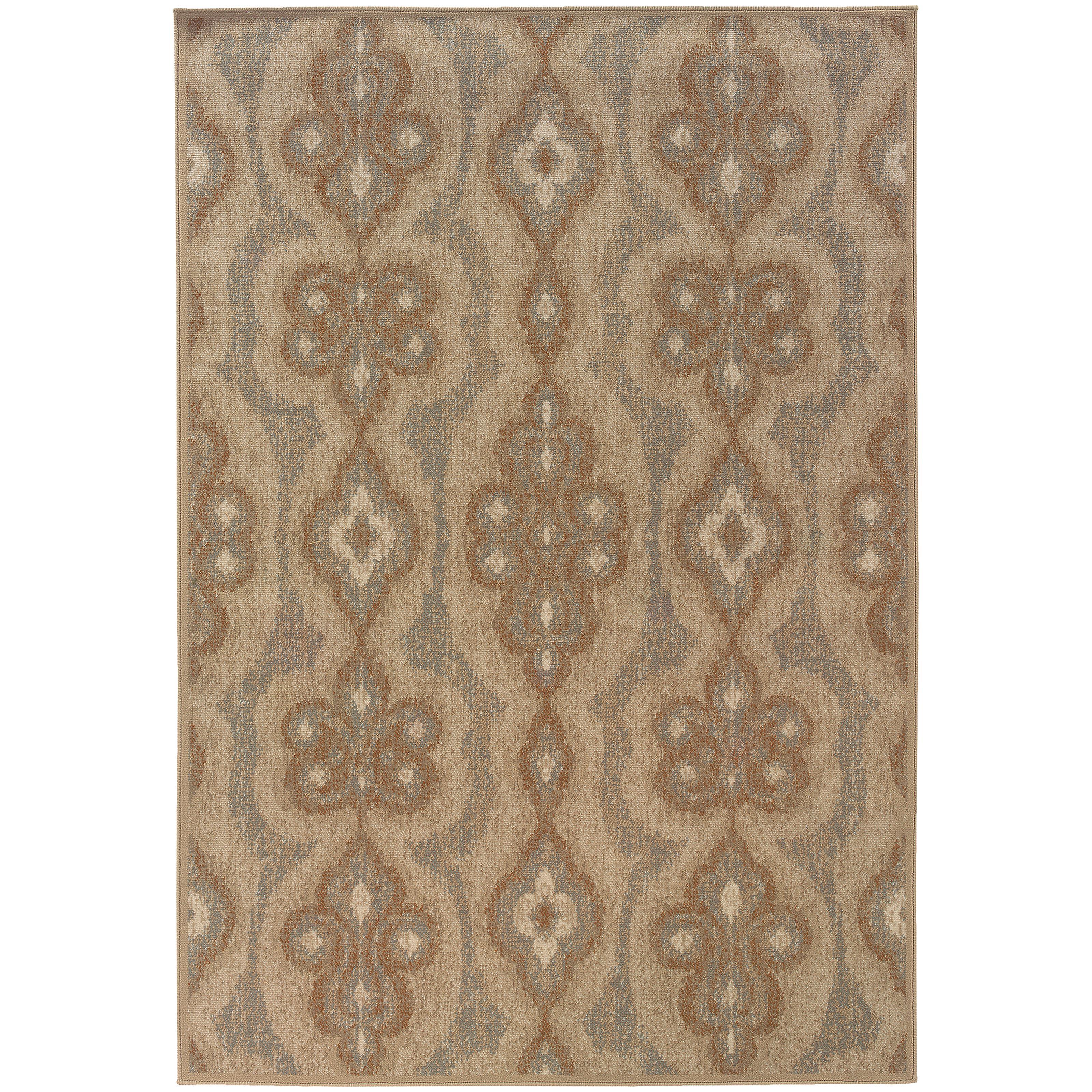 """Oriental Weavers Chloe 5' 3"""" X  7' 6"""" Rug - Item Number: C3980A160230ST"""