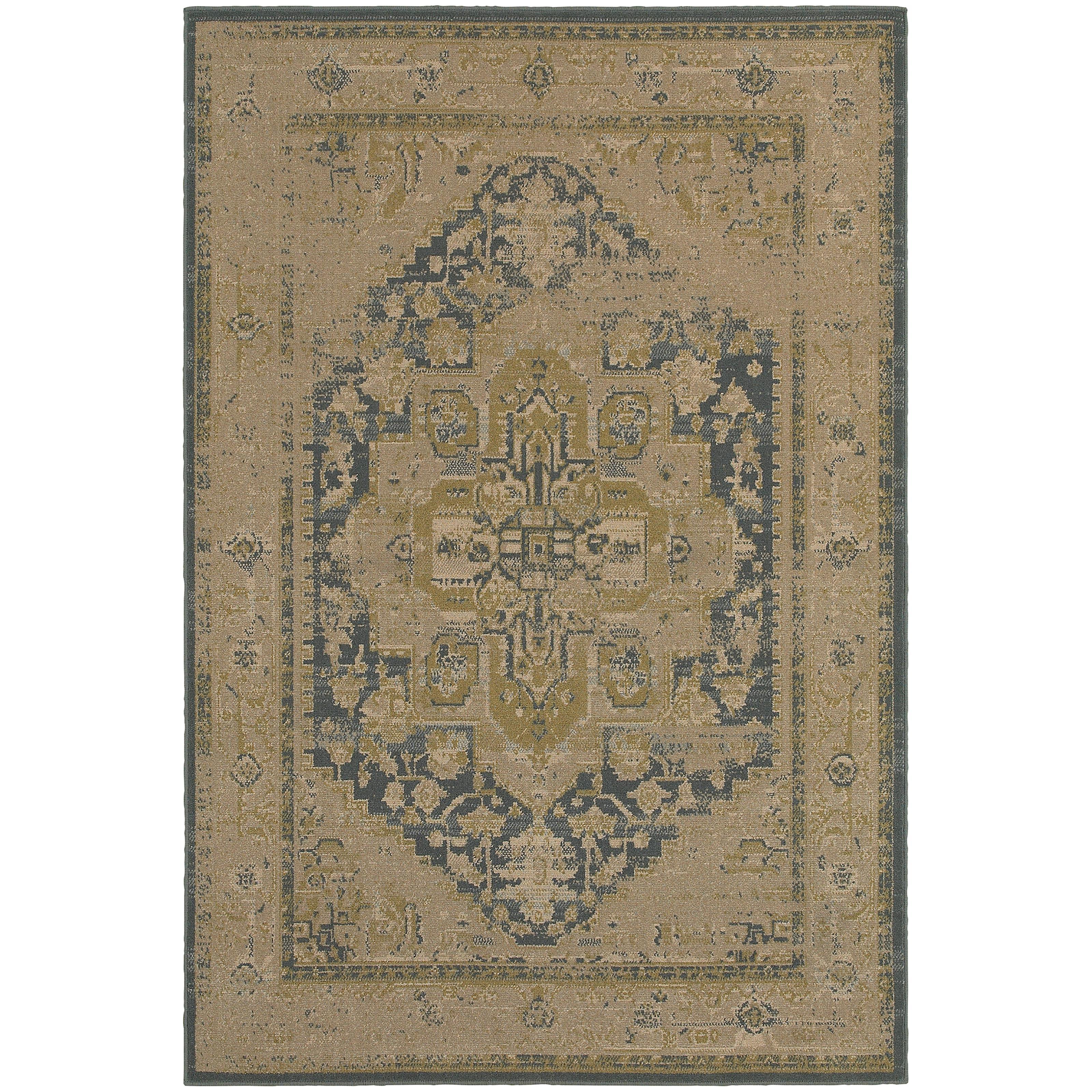 """Oriental Weavers Chloe 3'10"""" X  5' 5"""" Rug - Item Number: C4694A117165ST"""