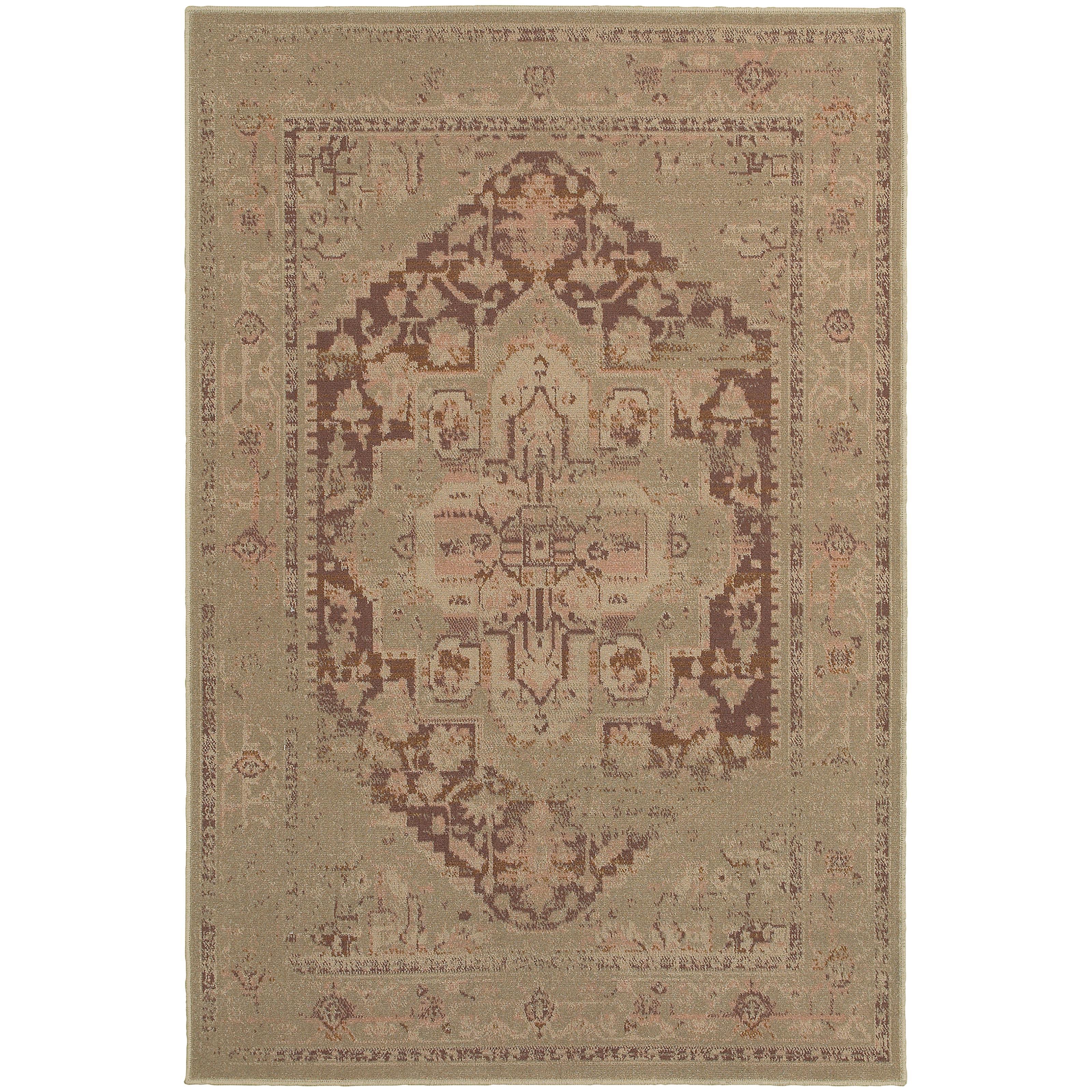 """Oriental Weavers Chloe 3'10"""" X  5' 5"""" Rug - Item Number: C4694K117165ST"""
