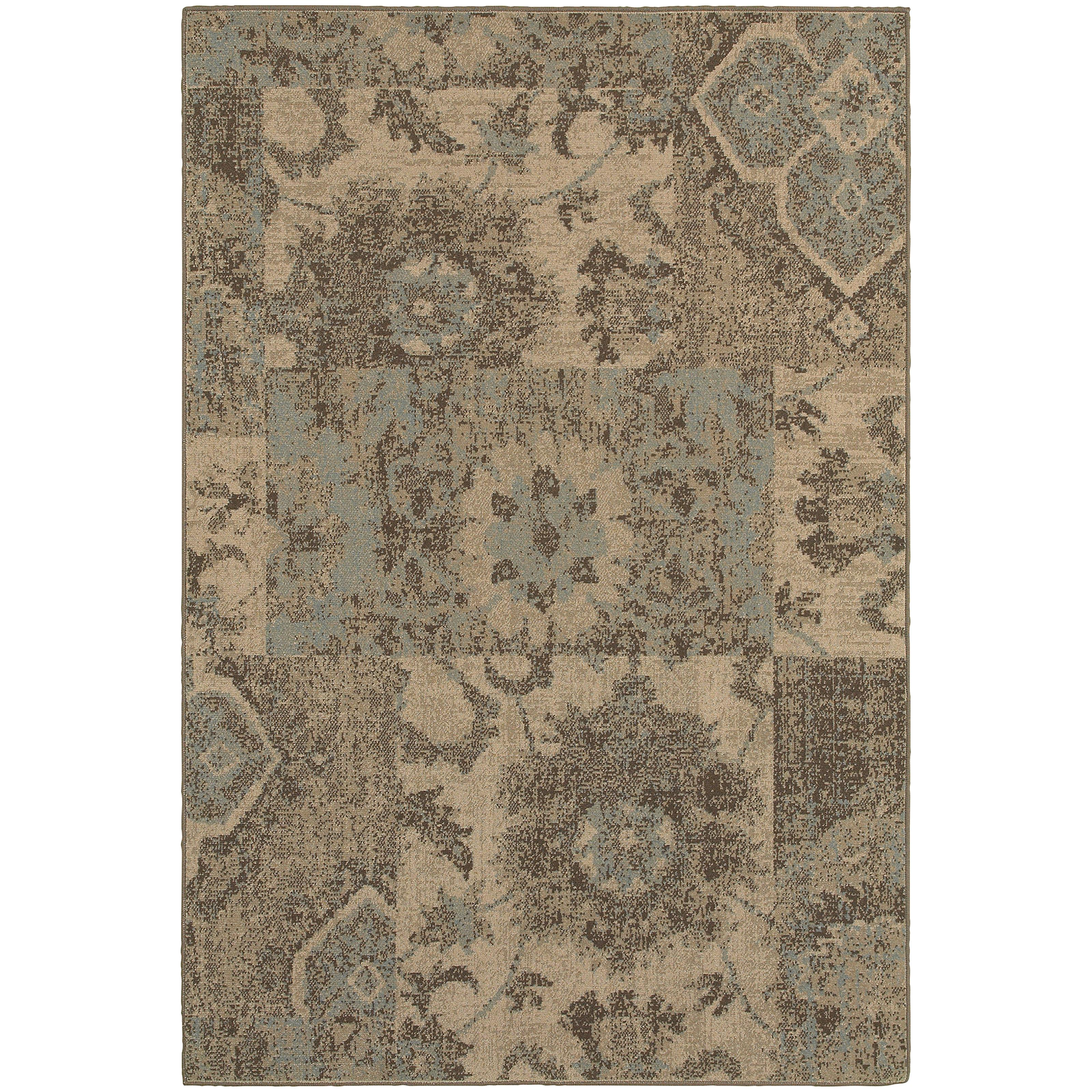 """Oriental Weavers Chloe 3'10"""" X  5' 5"""" Rug - Item Number: C4712K117165ST"""