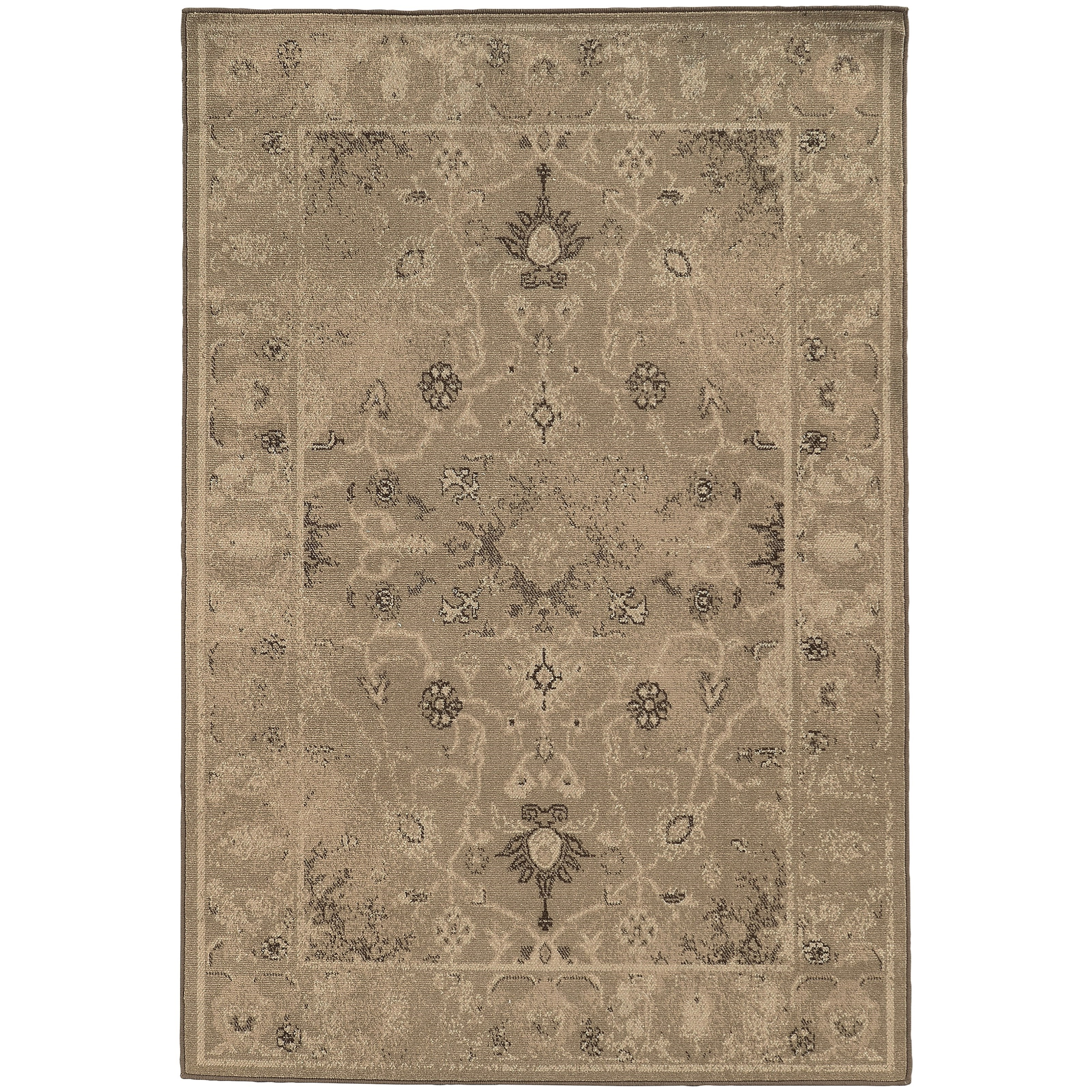 "Oriental Weavers Chloe 3'10"" X  5' 5"" Rectangle Area Rug - Item Number: CHL3868L310X55"