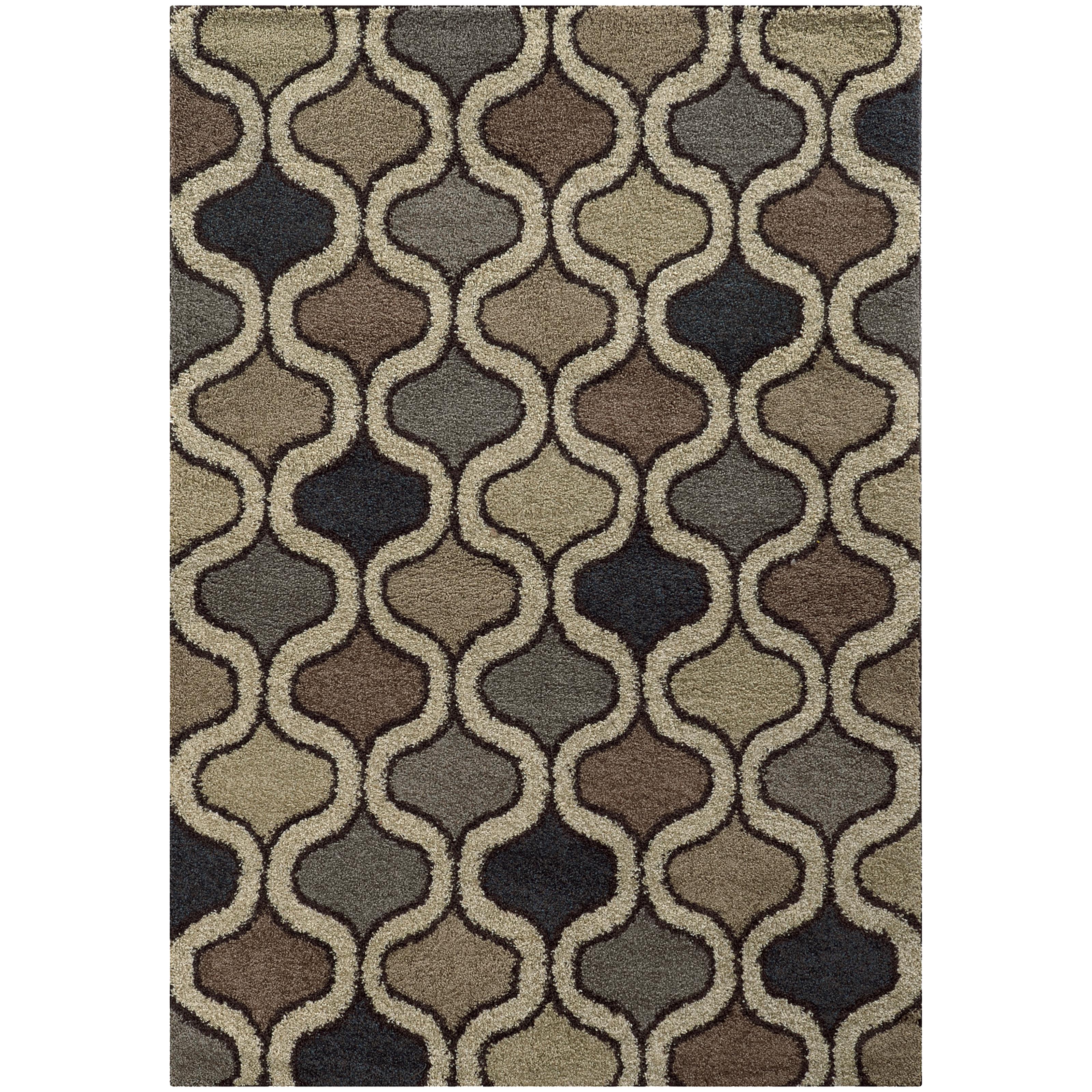 "Oriental Weavers Covington 3' 3"" X  5' 5"" Rug - Item Number: C532E6100165ST"