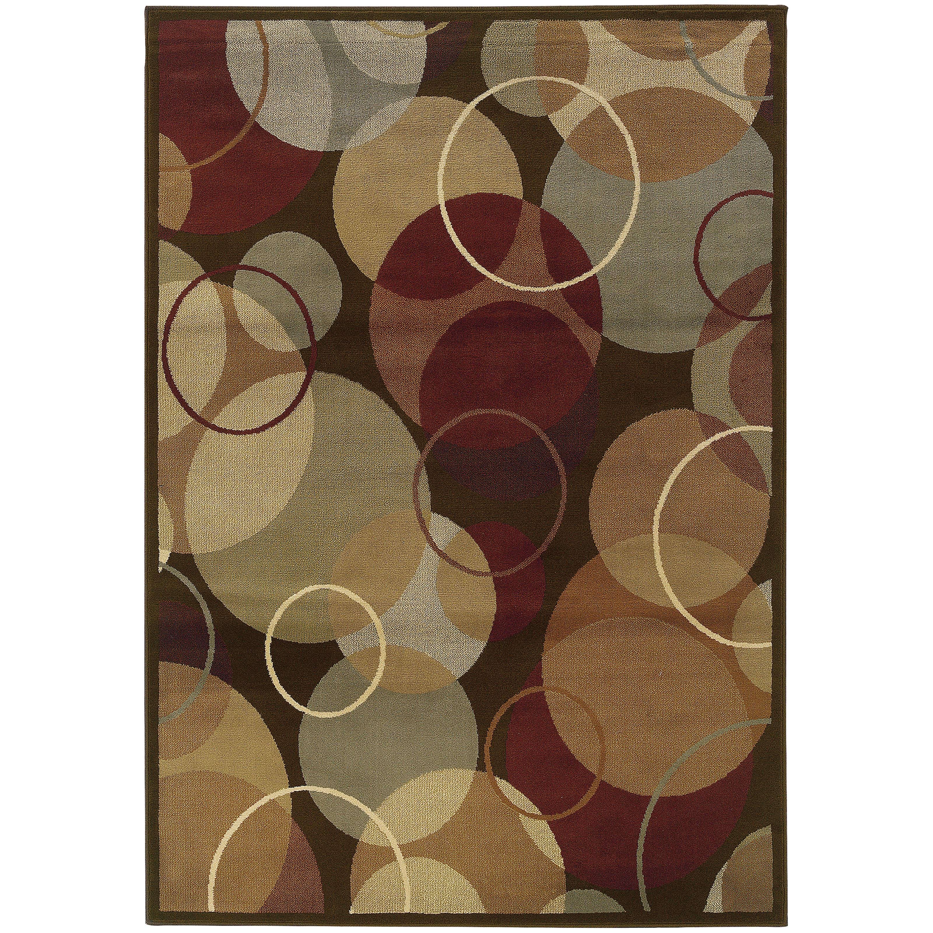"Oriental Weavers Darcy 5' 3"" X  7' 3"" Rug - Item Number: D2066D160220ST"