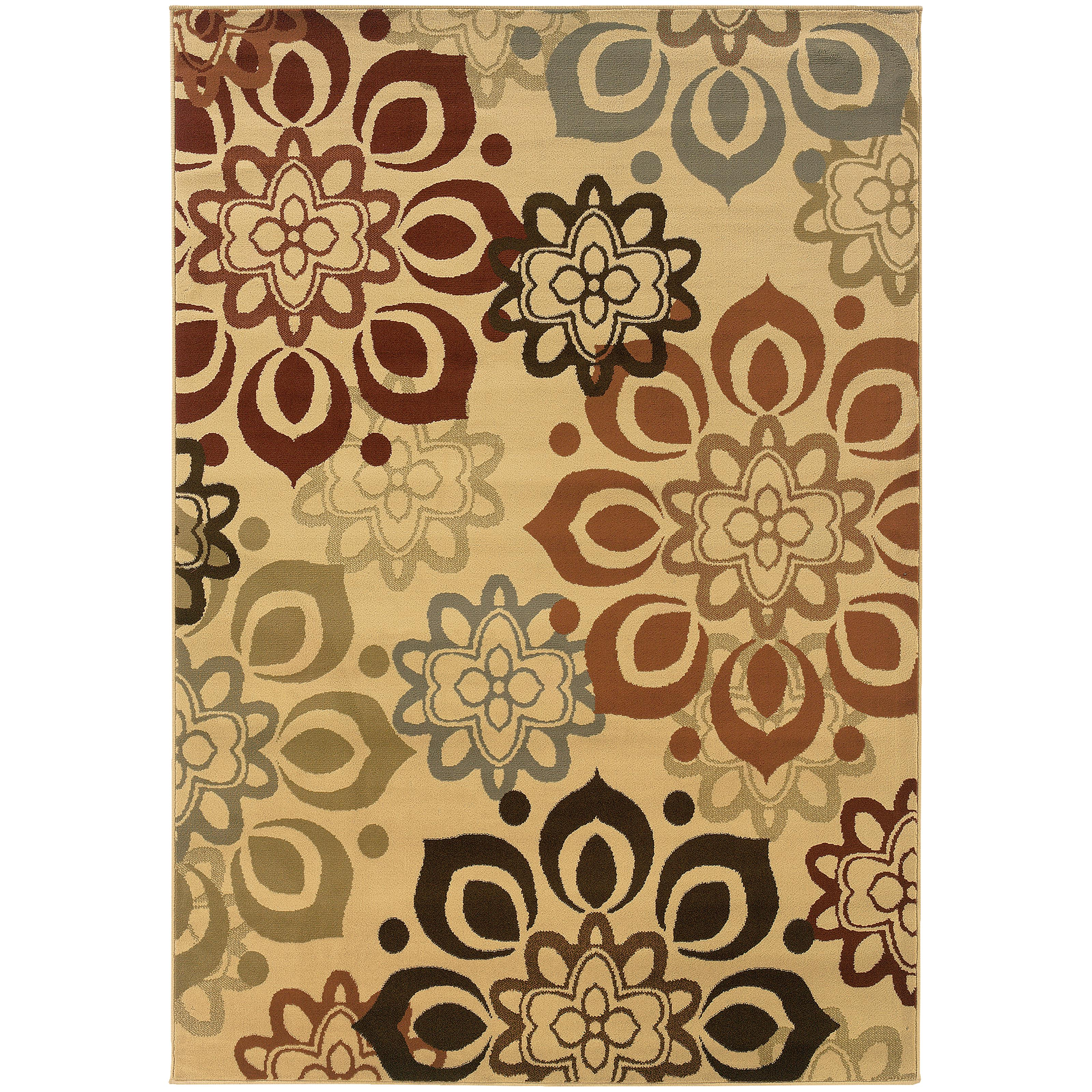 "Oriental Weavers Darcy 3' 3"" X  5' 0"" Rug - Item Number: D4441W100152ST"