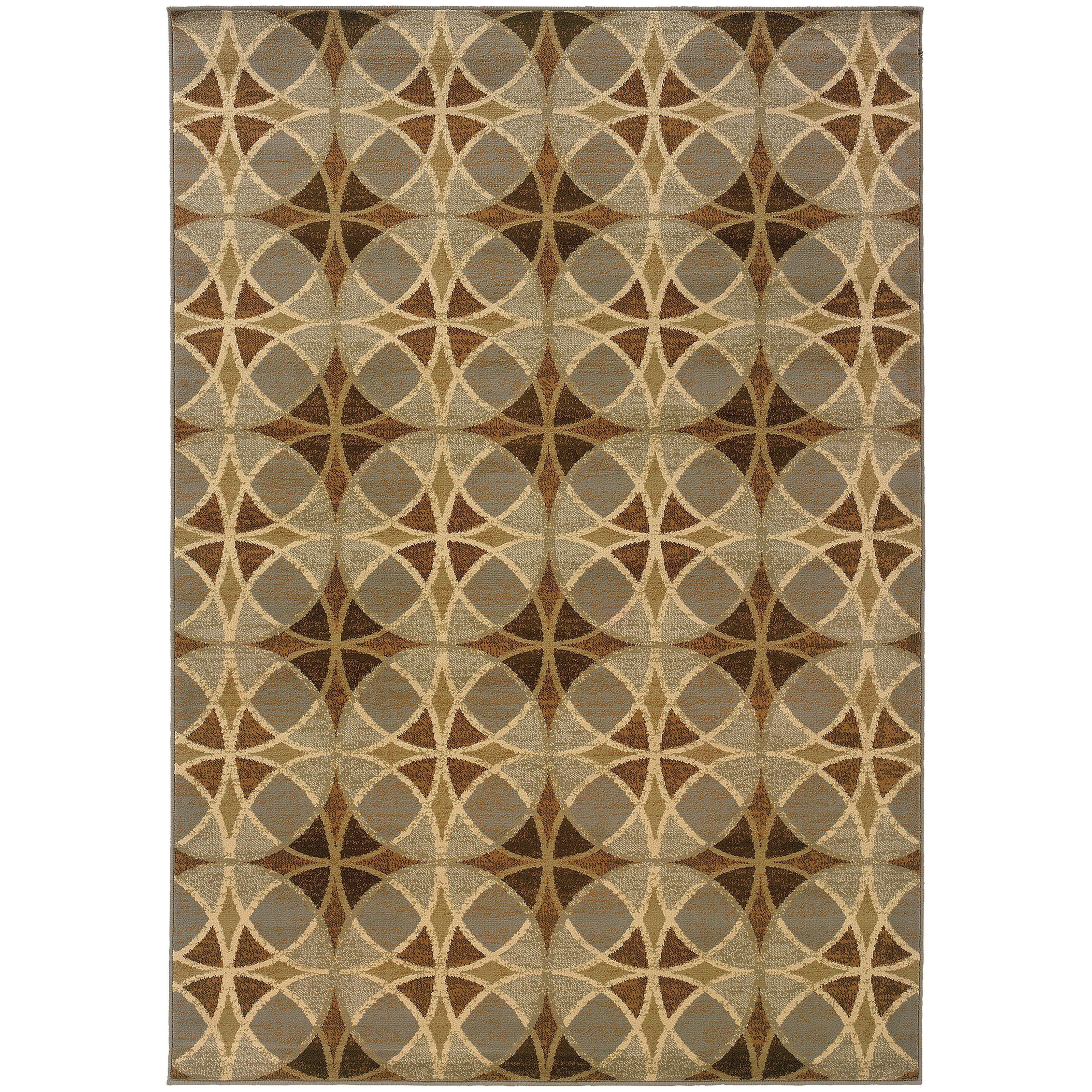 """Oriental Weavers Darcy 1'10"""" X  7' 3"""" Rug - Item Number: D5990N057220ST"""