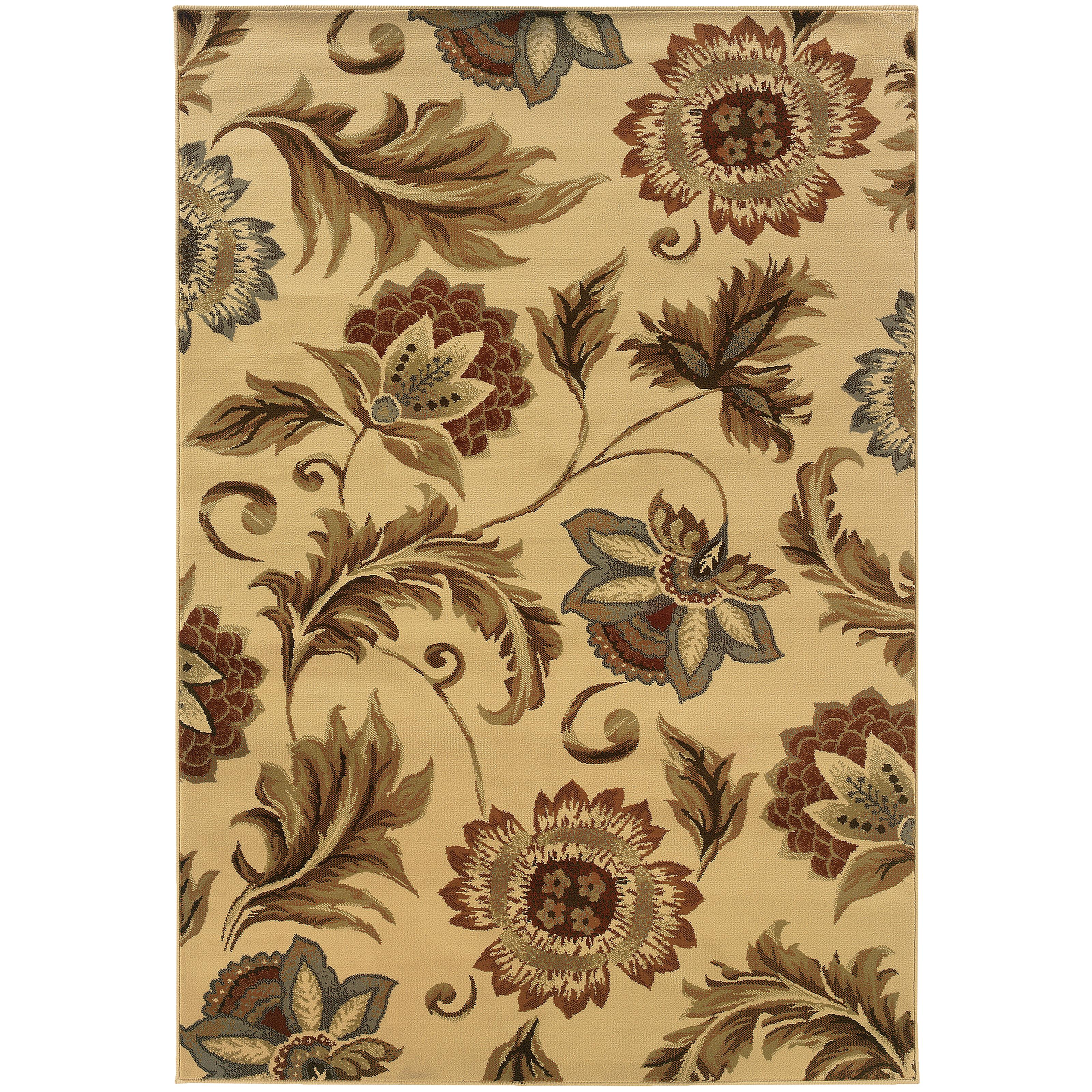 "Oriental Weavers Darcy 5' 3"" X  7' 3"" Rug - Item Number: D701W9160220ST"