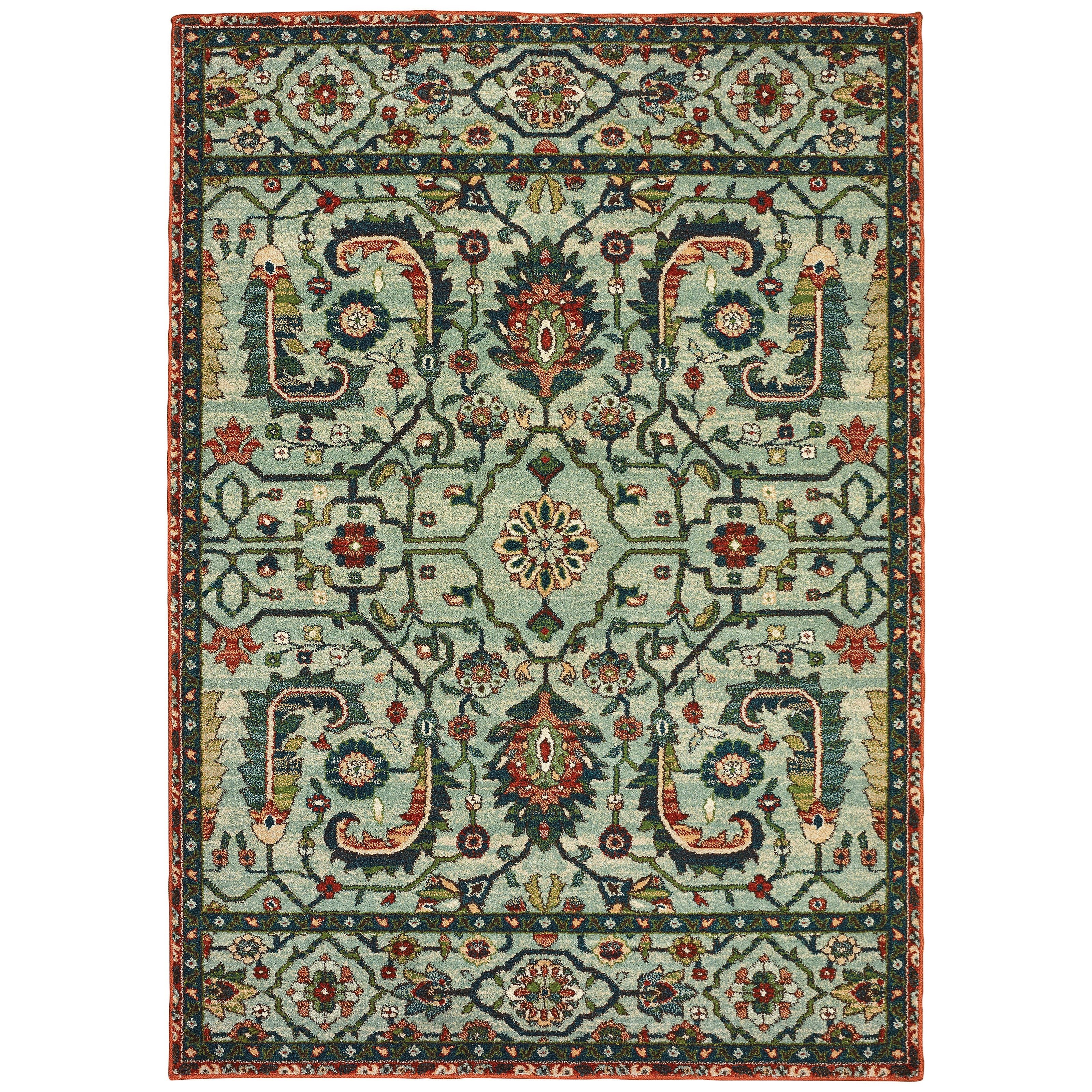 """Dawson 7'10"""" X 10'10"""" Rectangle Rug by Oriental Weavers at Darvin Furniture"""