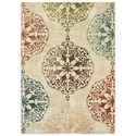 "Oriental Weavers Dawson 7'10"" X 10'10"" Rectangle Rug - Item Number: DAW8522B710X1010"
