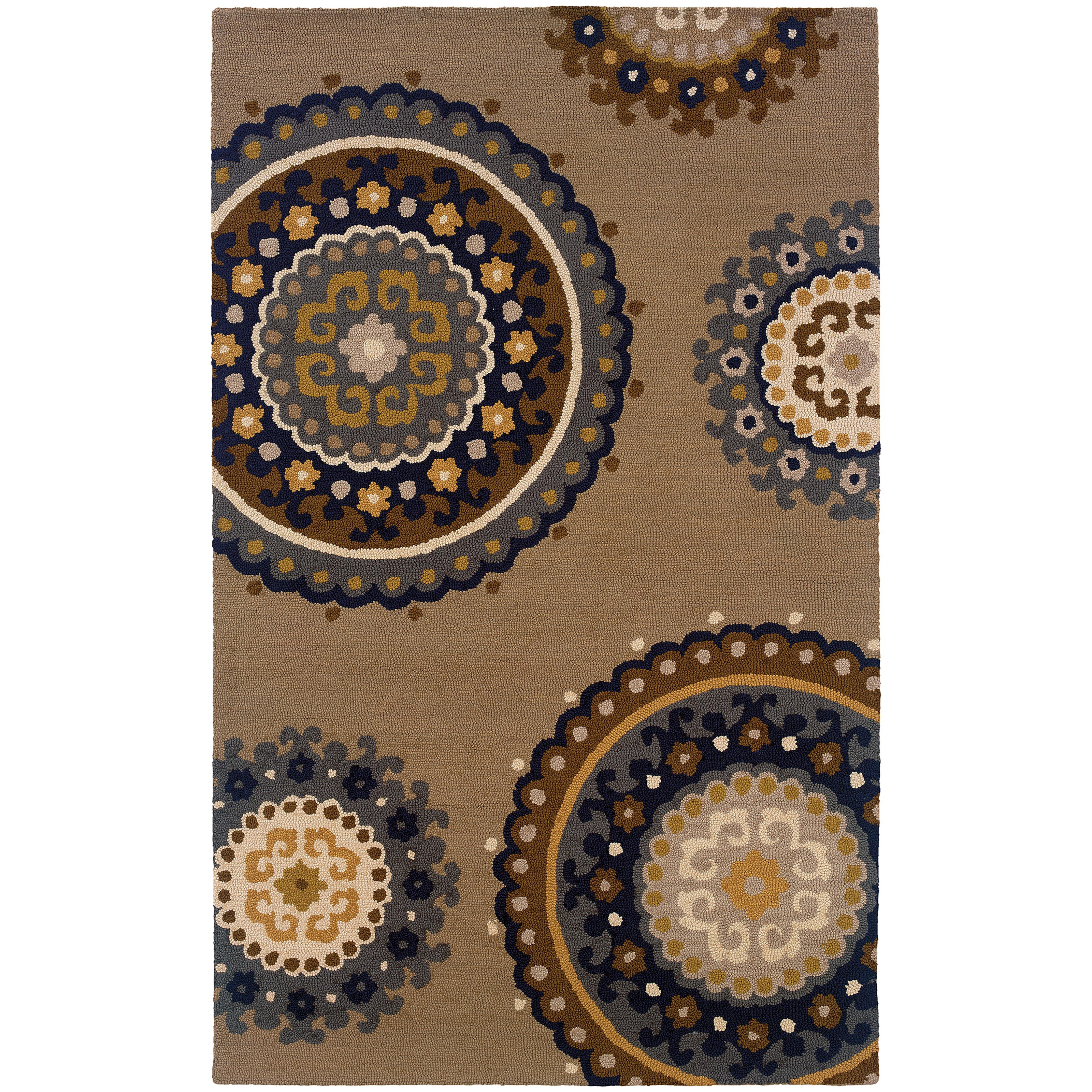 "Oriental Weavers Eden 3' 6"" X  5' 6"" Rug - Item Number: E87105107168ST"