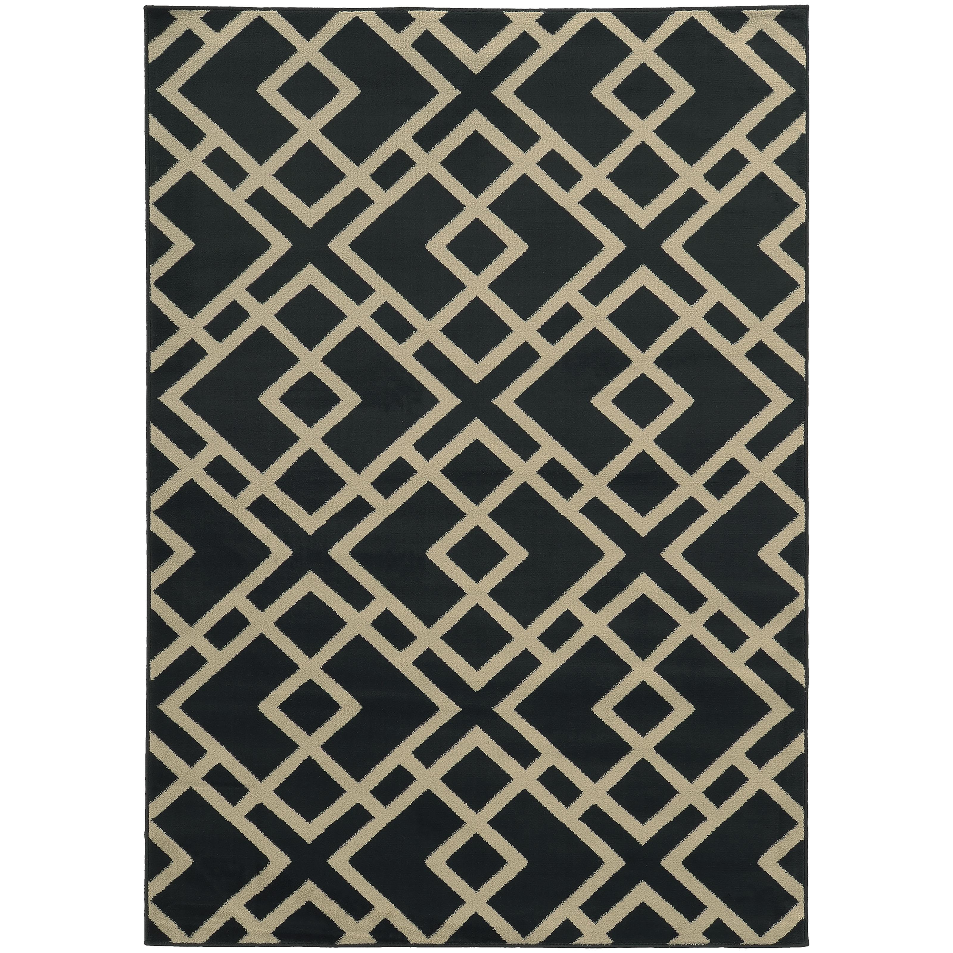 "Oriental Weavers Ella 3' 3"" X  5' 5"" Rug - Item Number: E3685H100165ST"