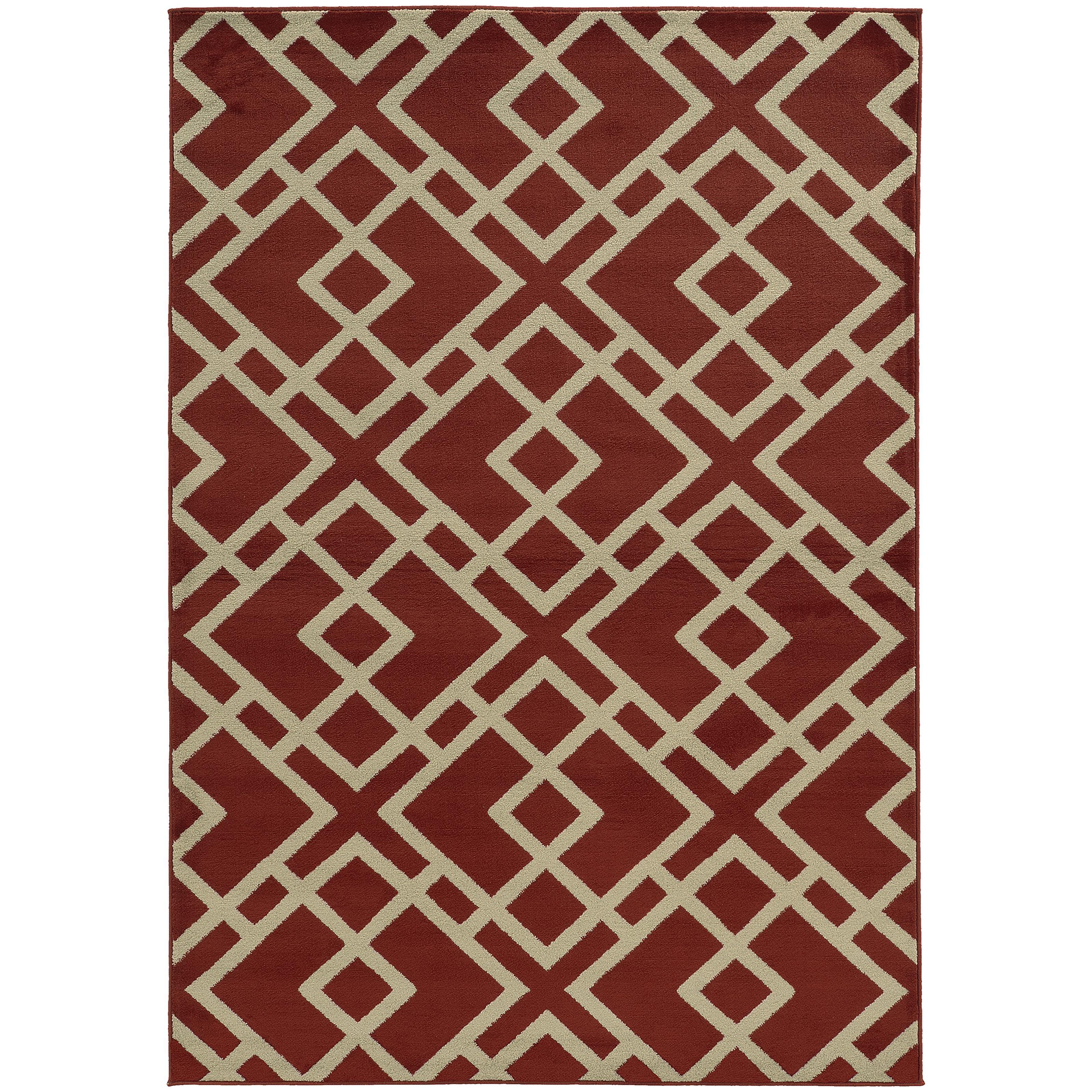 "Oriental Weavers Ella 3' 3"" X  5' 5"" Rug - Item Number: E3685J100165ST"