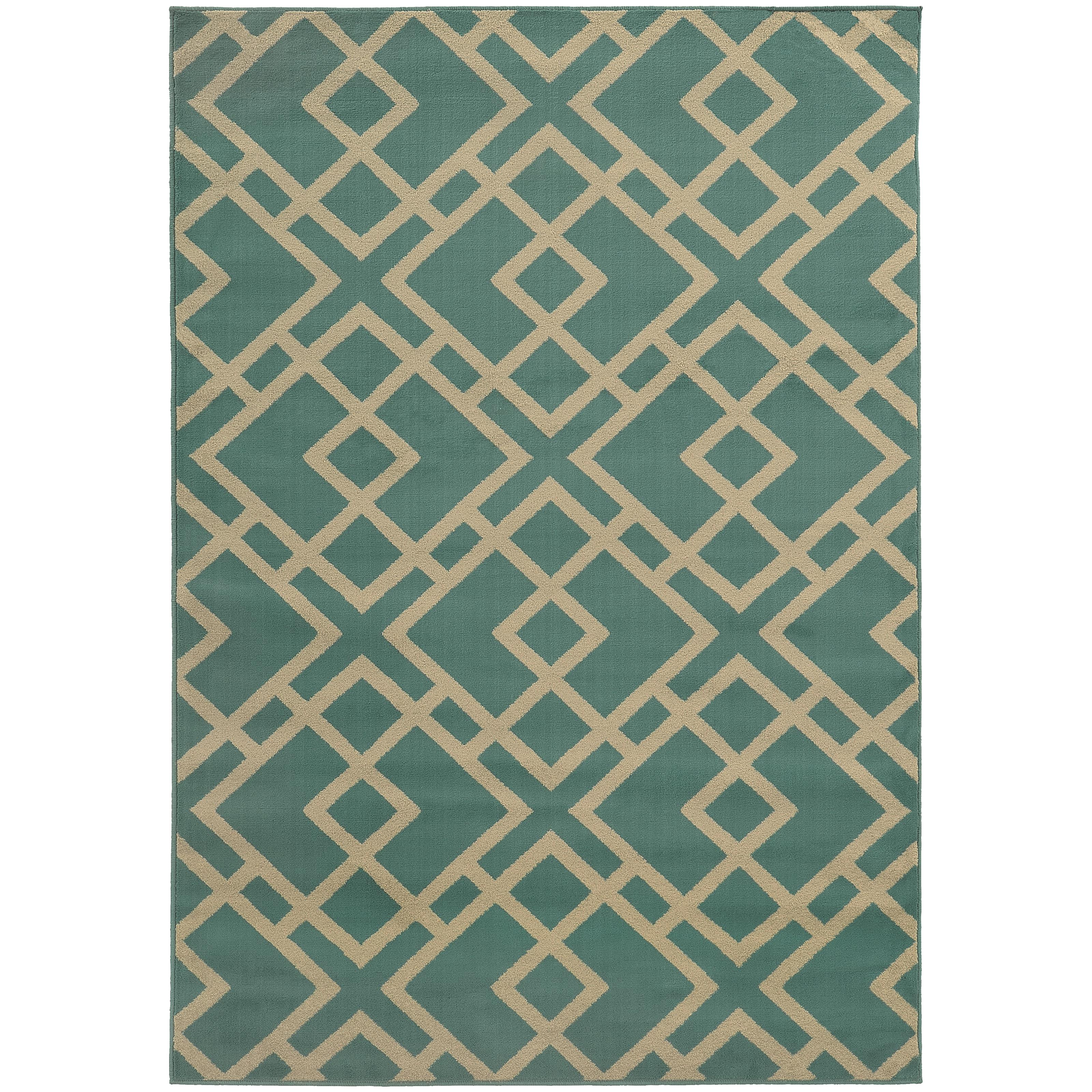 "Oriental Weavers Ella 3' 3"" X  5' 5"" Rug - Item Number: E3685M100165ST"