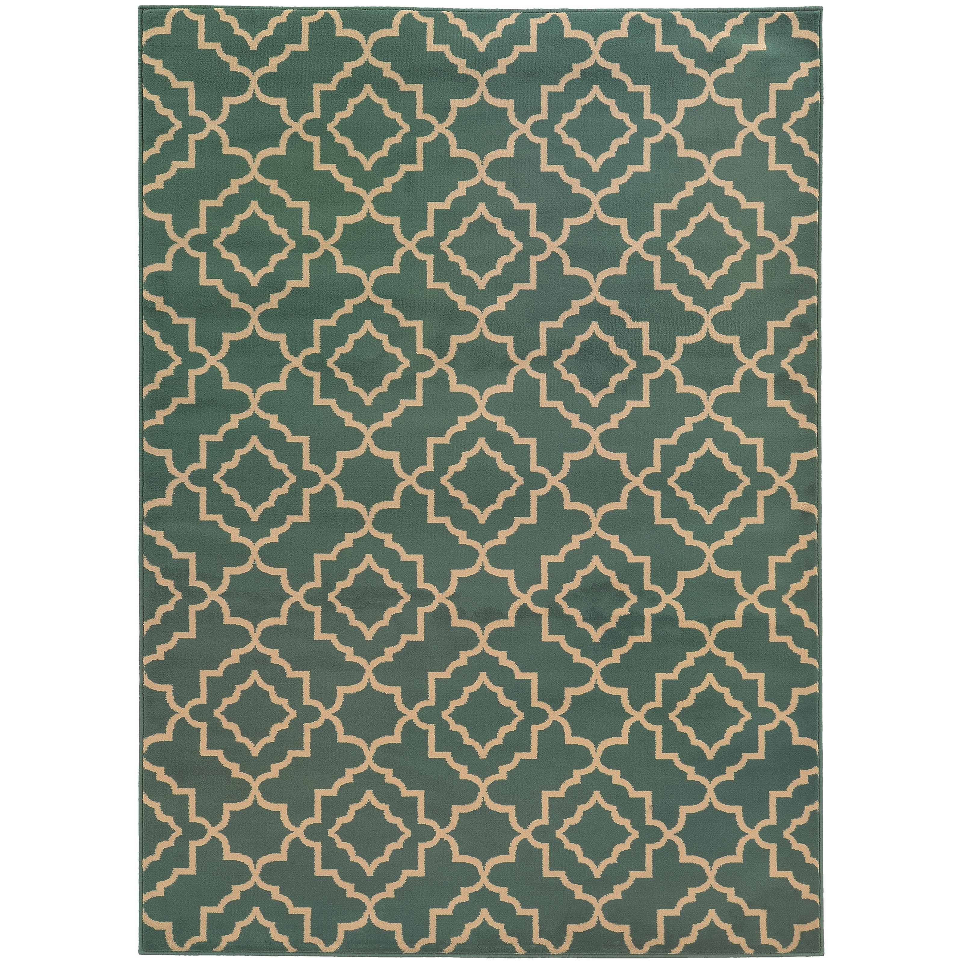 "Oriental Weavers Ella 3' 3"" X  5' 5"" Rug - Item Number: E5185A100165ST"