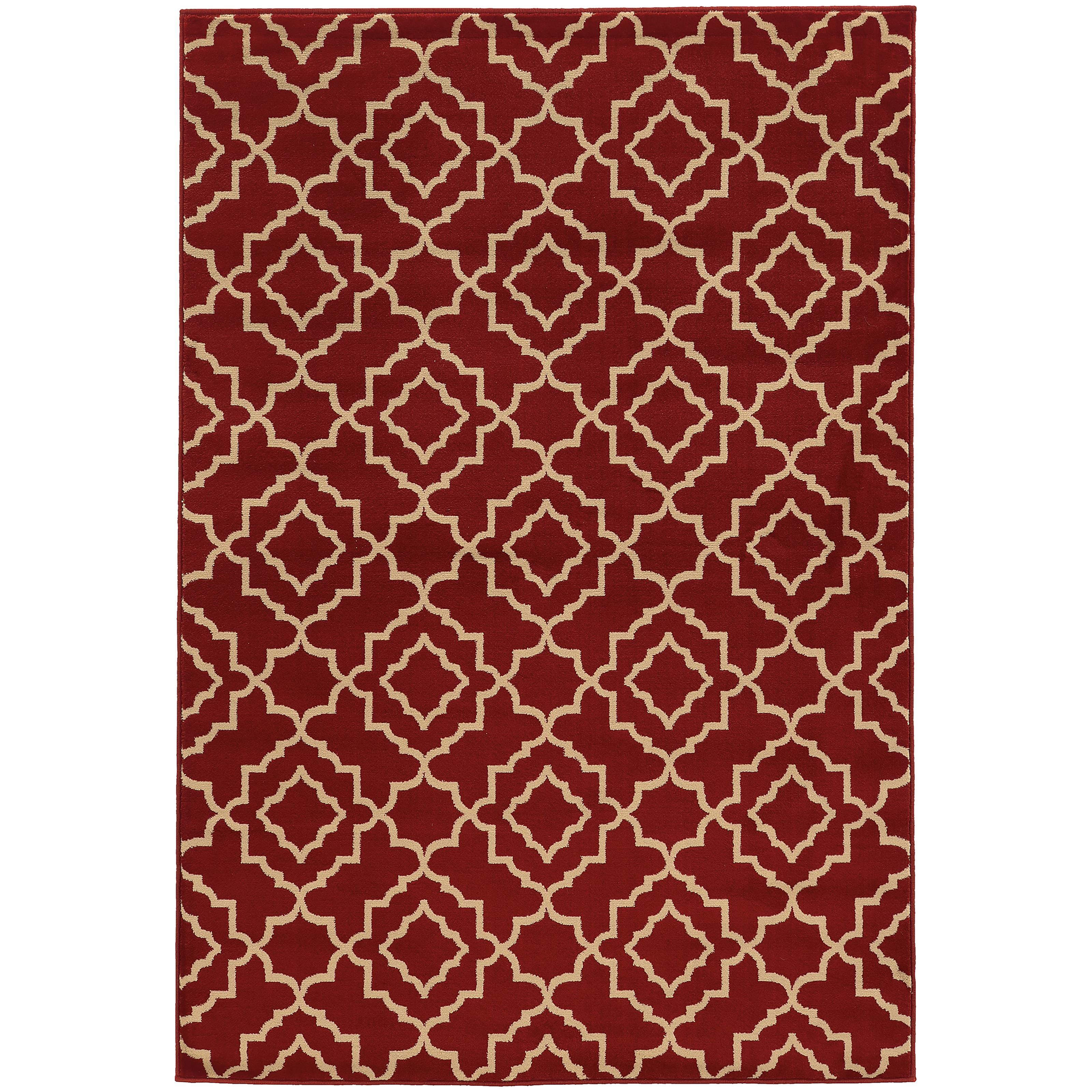 "Oriental Weavers Ella 5' 3"" X  7' 3"" Rug - Item Number: E5185E160220ST"