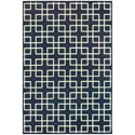 "Oriental Weavers Ellerson 9'10"" X 12'10"" Rectangle Area Rug - Item Number: ELL6140B910X1210"