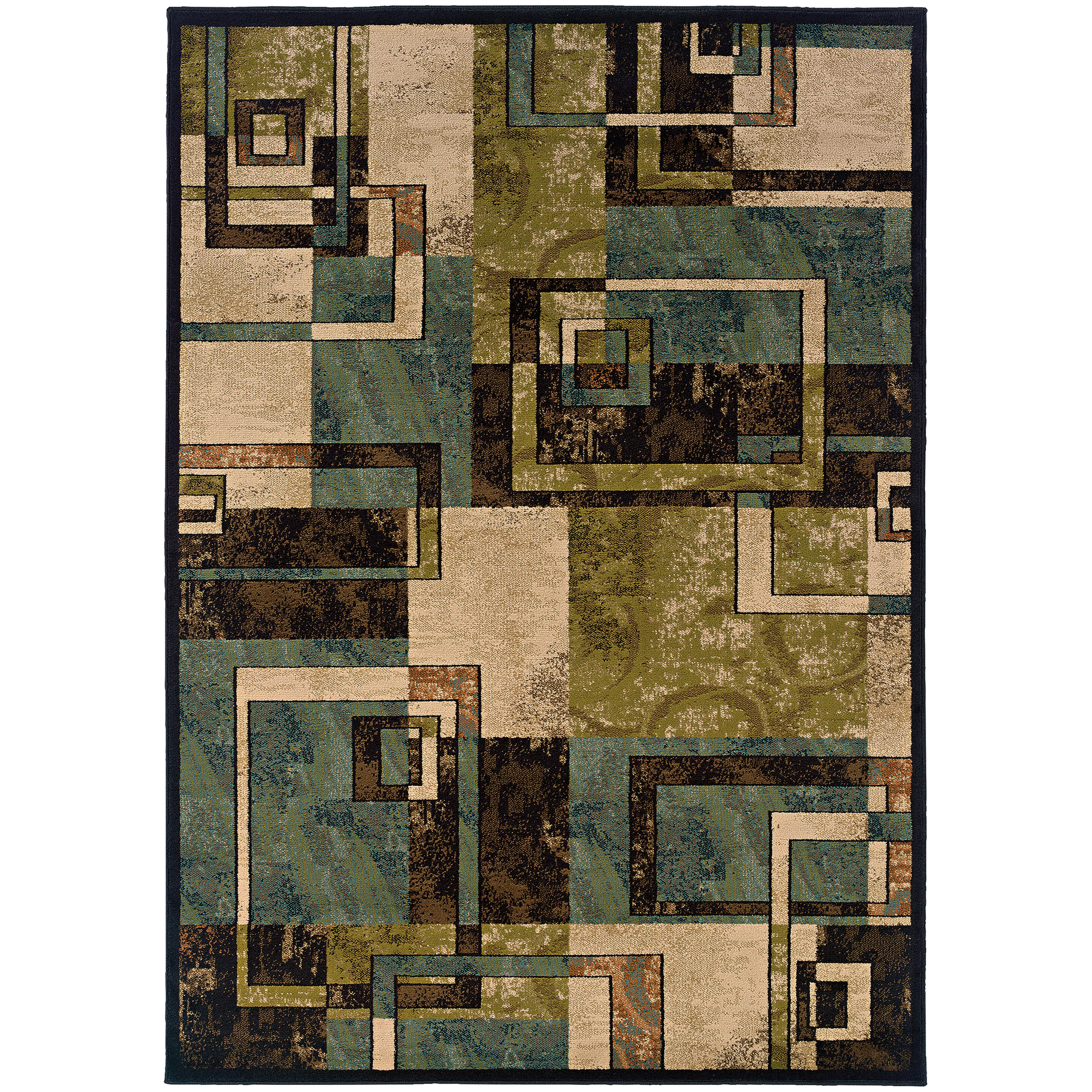 "Oriental Weavers Emerson 5' 0"" X  7' 6"" Rug - Item Number: E2817A152229ST"