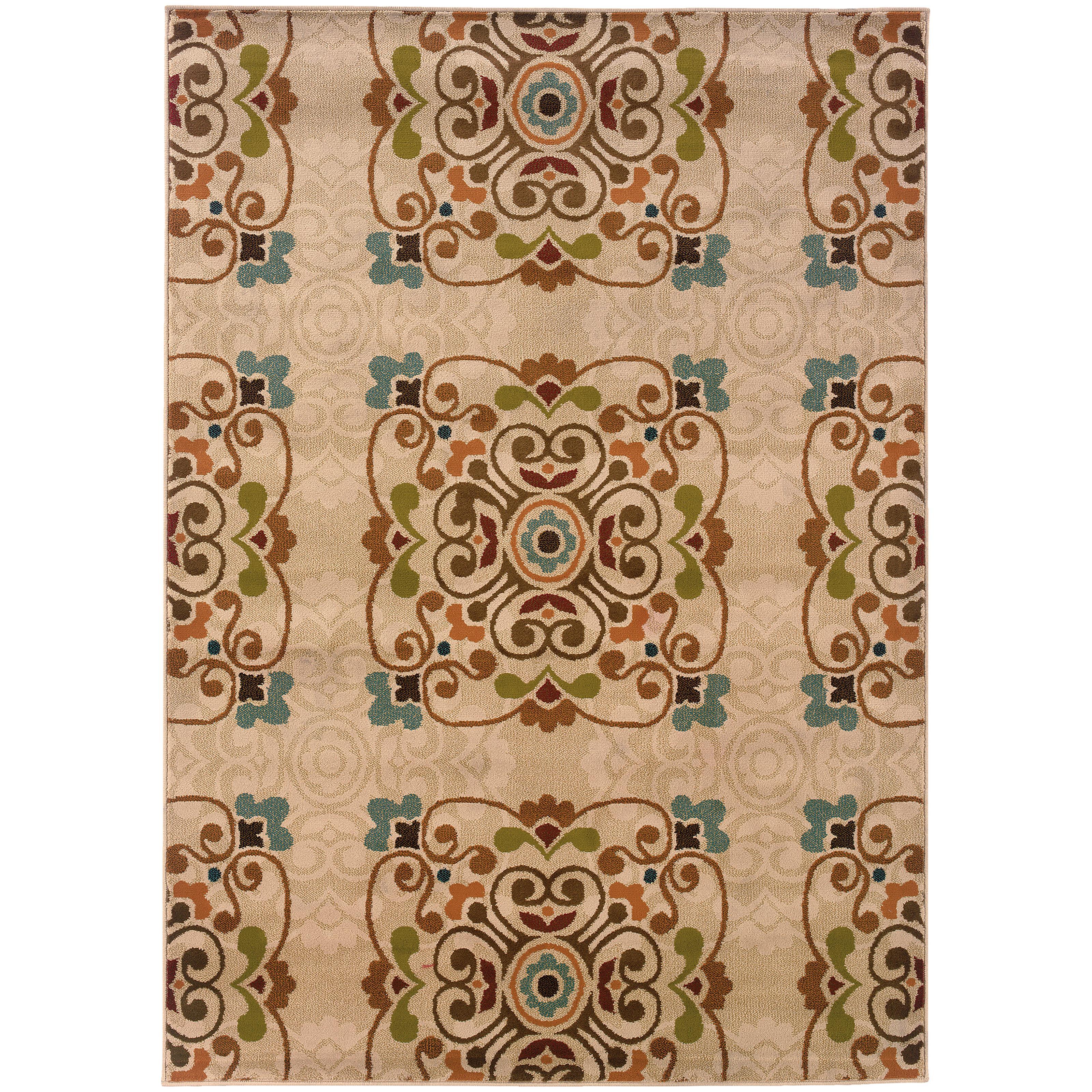 "Oriental Weavers Emerson 1'10"" X  3' 3"" Rug - Item Number: E2818B056099ST"