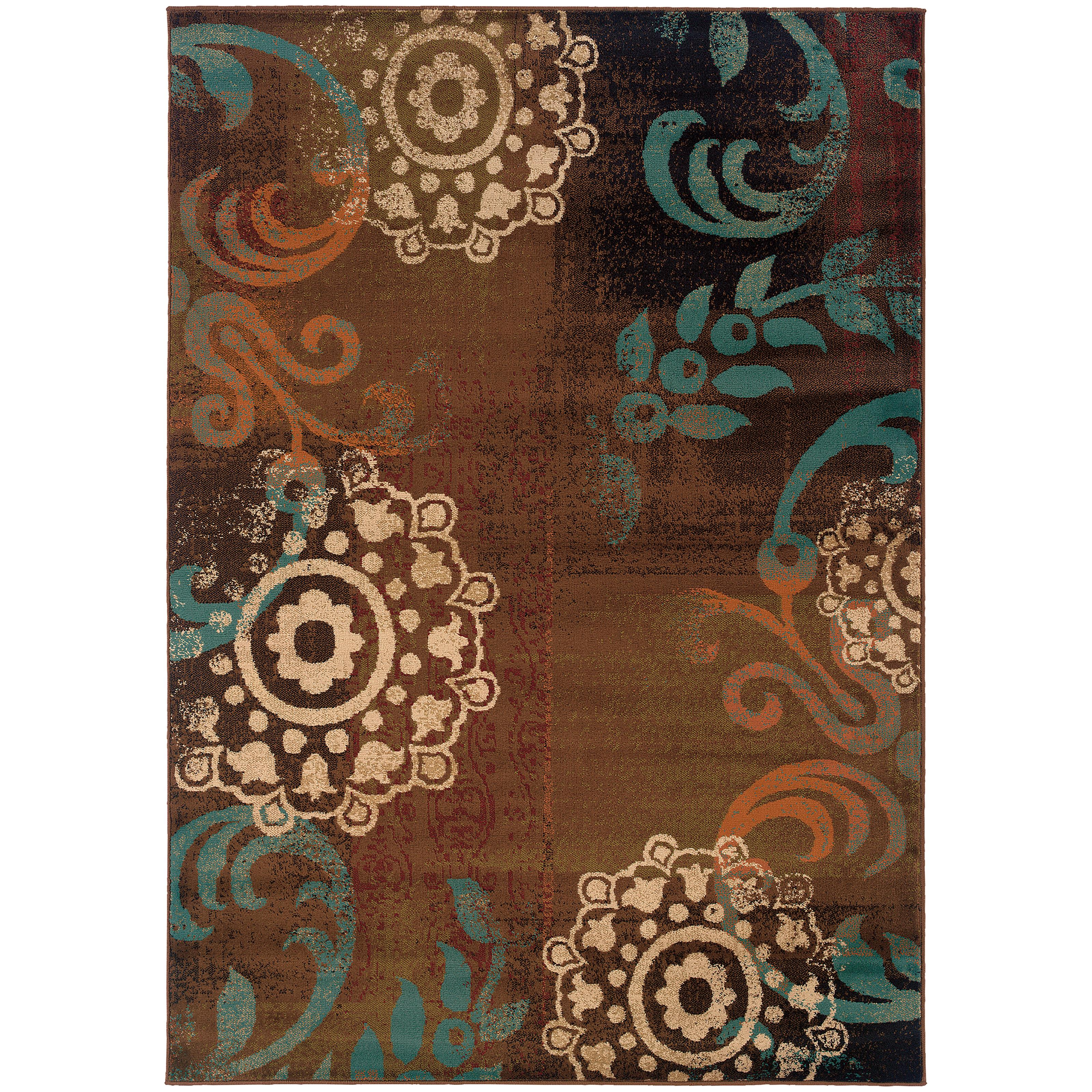 """Oriental Weavers Emerson 3'10"""" X  5' 5"""" Rug - Item Number: E2822A117165ST"""