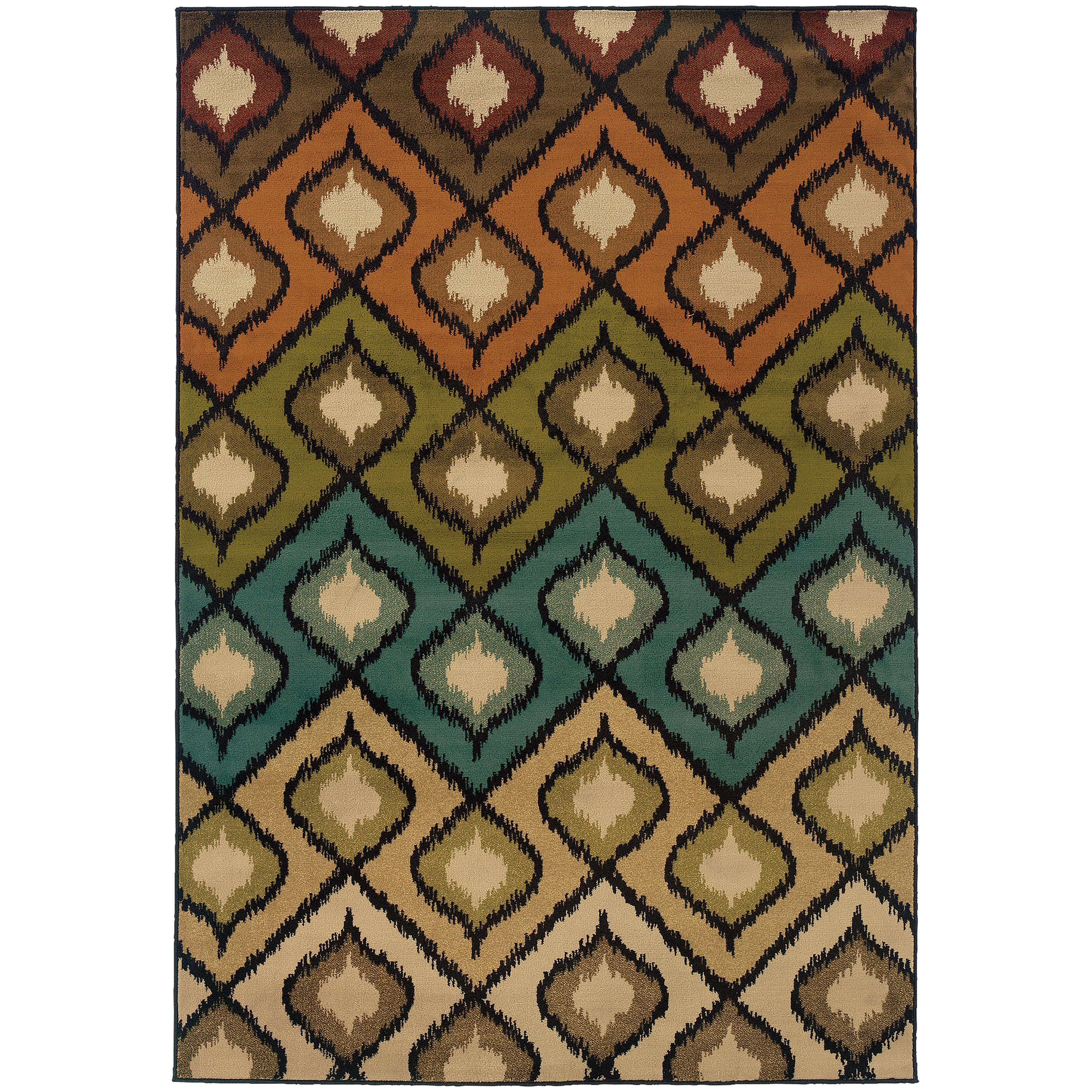 "Oriental Weavers Emerson 1'10"" X  3' 3"" Rug - Item Number: E3309A056099ST"