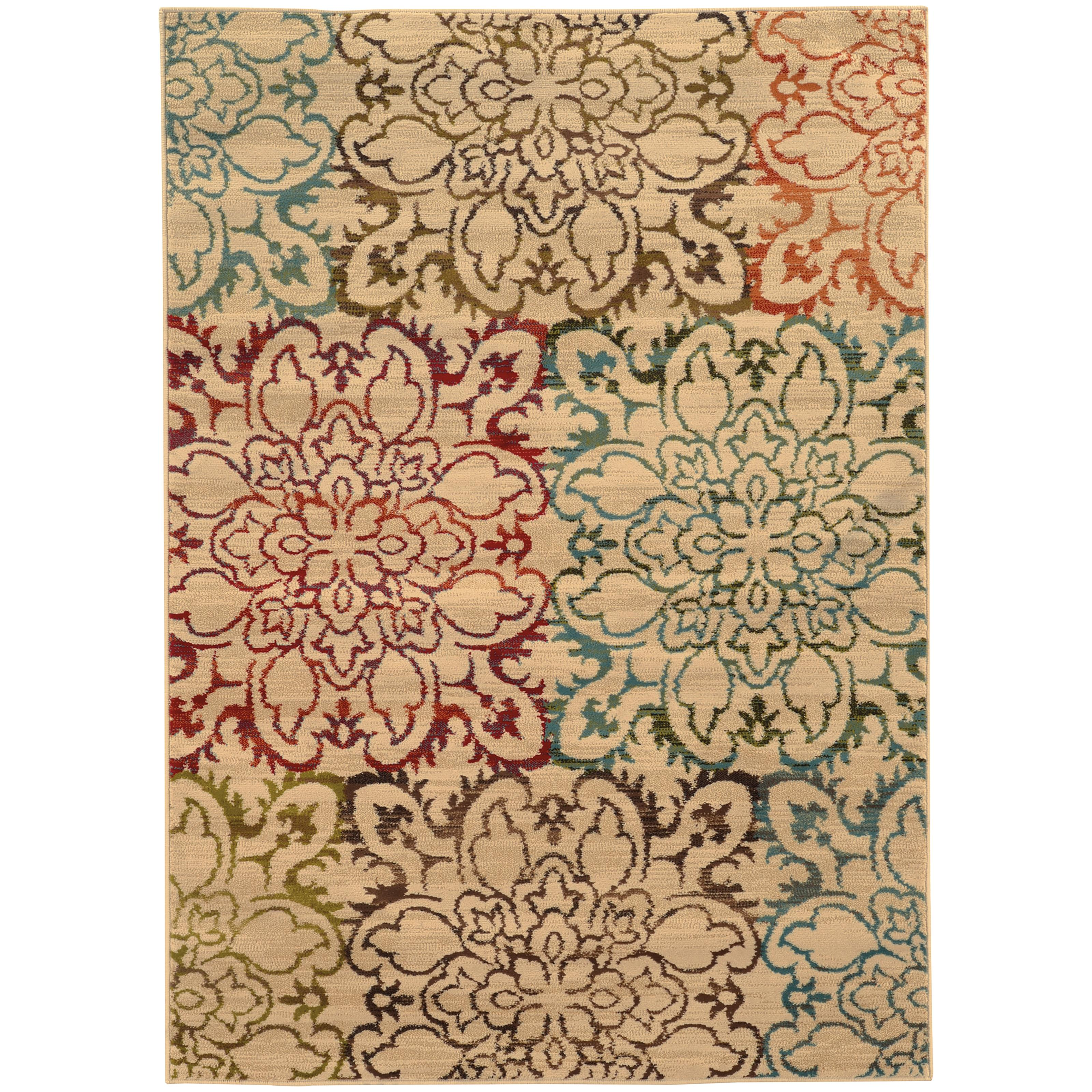 "Oriental Weavers Emerson 3'10"" X  5' 5"" Rug - Item Number: E4872A117165ST"