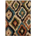 "Oriental Weavers Emerson 3'10"" X  5' 5"" Rug - Item Number: E4875A117165ST"