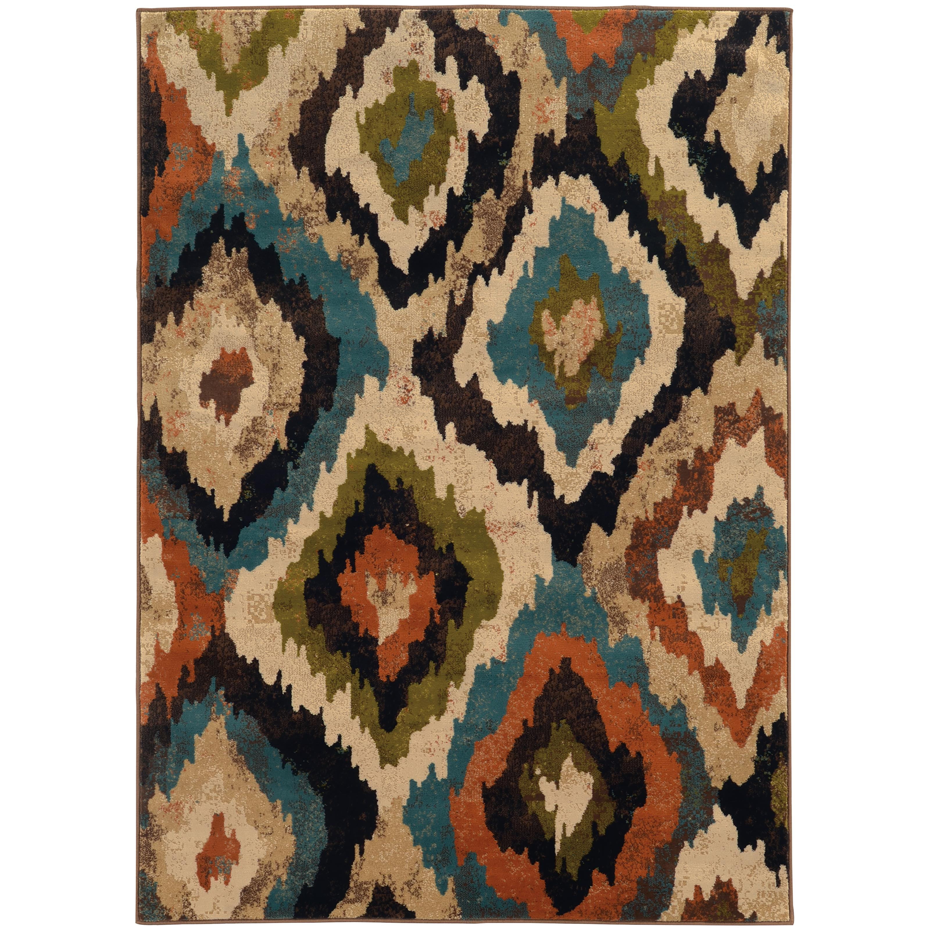 """Oriental Weavers Emerson 6' 7"""" X  9' 6"""" Rug - Item Number: E4875A200290ST"""