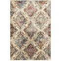 """Oriental Weavers Empire 3'10"""" X  5' 5"""" Casual Ivory/ Gold Rectangle  - Item Number: EMP30J310X55"""