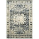 """Oriental Weavers Empire 7'10"""" X 10'10"""" Traditional Ivory/ Blue Recta - Item Number: EMP4445S710X1010"""