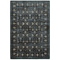 """Oriental Weavers Empire 2' 3"""" X  7' 6"""" Traditional Navy/ Ivory Runne - Item Number: EMP501L23X76"""