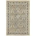 "Oriental Weavers Empire 9'10"" X 12'10"" Traditional Ivory/ Blue Recta - Item Number: EMP501U910X1210"