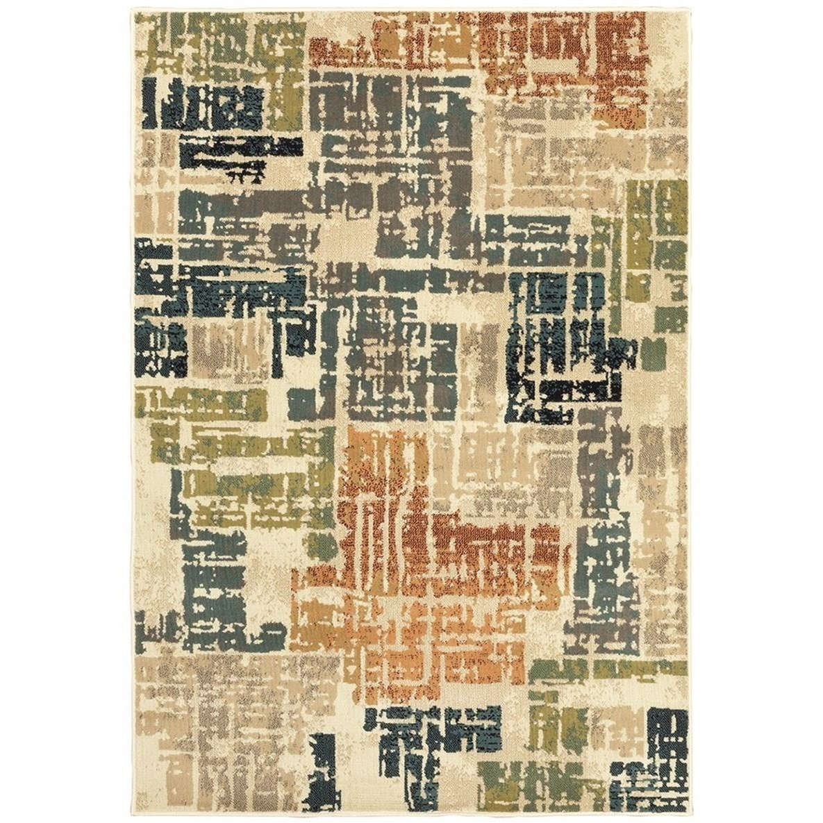 """Evandale 3'10"""" X  5' 5"""" Rectangle Area Rug by Oriental Weavers at Darvin Furniture"""