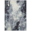 "Oriental Weavers Evolution 3' 3"" X  5' 2"" Rectangle Rug - Item Number: EVO8000B33X52"