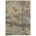 "Oriental Weavers Evolution 3' 3"" X  5' 2"" Rectangle Rug - Item Number: EVO8025B33X52"