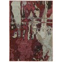 "Oriental Weavers Evolution 3' 3"" X  5' 2"" Rectangle Rug - Item Number: EVO8028B33X52"