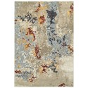 "Oriental Weavers Evolution 6' 7"" X  9' 6"" Rectangle Rug - Item Number: EVO8043K67X96"