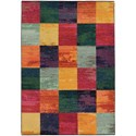 """Oriental Weavers Expressions 4' 0"""" X  5' 9"""" Rectangle Rug - Item Number: EXP566C4X59"""