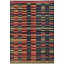 """Oriental Weavers Expressions 6' 7"""" X  9' 1"""" Rectangle Rug - Item Number: EXP603X67X91"""