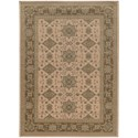 """Oriental Weavers Foundry 7'10"""" X 10'10"""" Traditional Beige/ Sand Recta - Item Number: FOU1542M710X1010"""