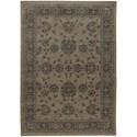 "Oriental Weavers Foundry 1'10"" X  3' 3"" Traditional Grey/ Grey Rectan - Item Number: FOU4924E110X33"