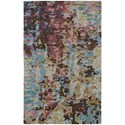 """Oriental Weavers Galaxy 8' 0"""" X 10' 0"""" Contemporary Blue/ Multi Rect - Item Number: GAL219028X10"""