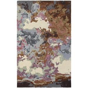 "Oriental Weavers Galaxy 10' 0"" X 13' 0"" Contemporary Blue/ Brown Rec"