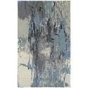 "Oriental Weavers Galaxy 5' 0"" X  8' 0"" Contemporary Blue/ Grey Recta - Item Number: GAL219065X8"